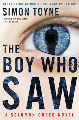 The Boy Who Saw by Simon Toyne (Book cover)