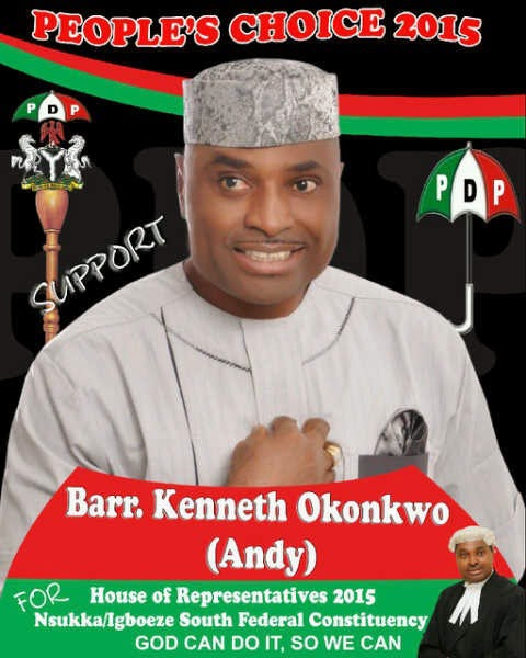 kenneth okonkwo lost election