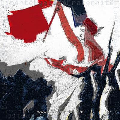 la Marianne, symbole de la République française, FLE, le FLE en un 'clic'