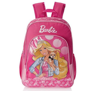 Barbie Pink Casual Backpack