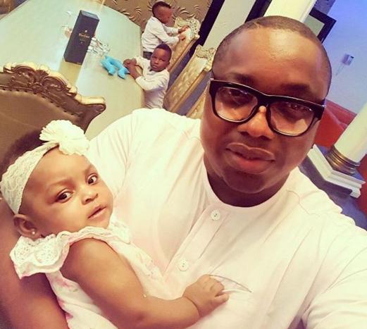 gbenro ajibade baby girl