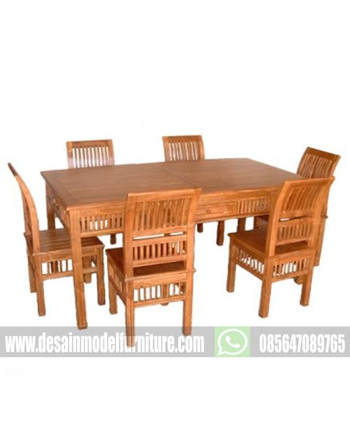 kursi makan kartini kayu jati jepara