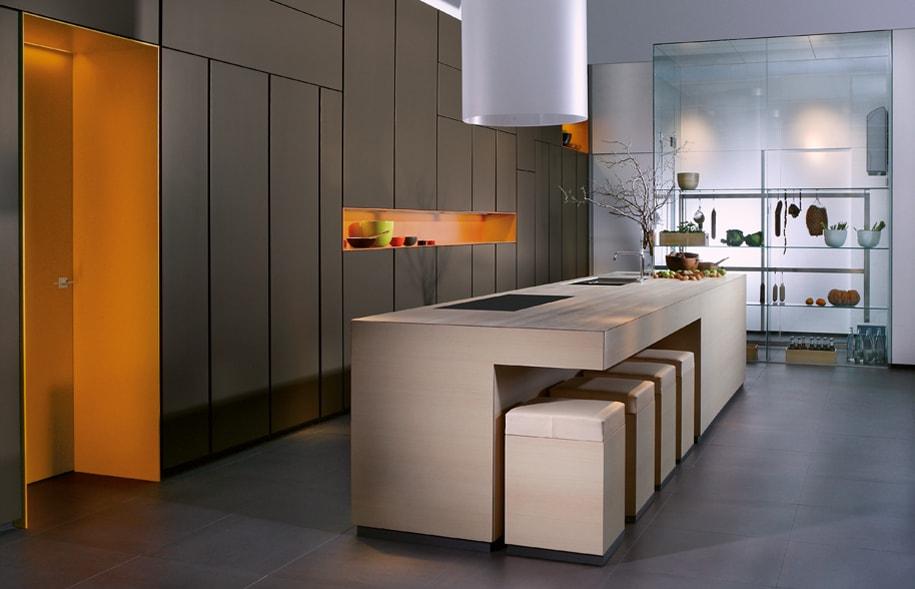 Muebles multifuncionales ideales para cocinas abiertas