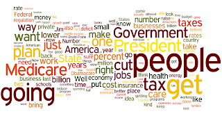 Governor Romney Wordle Denver Colorado - October 3, 2012