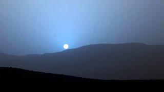 Κι όμως το ηλιοβασίλεμα στον Άρη είναι μπλε – Μαγευτικές οι εικόνες της NASA