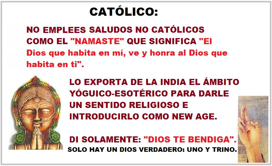 Matrimonio Catolico Que Significa : Totus tuus contra nueva era quÉ significa quot namaste o