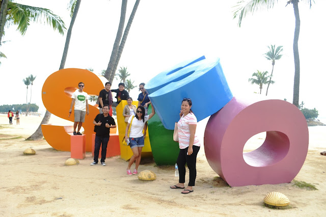 10 Singapore Fun Activities - Siloso Beach Sentosa