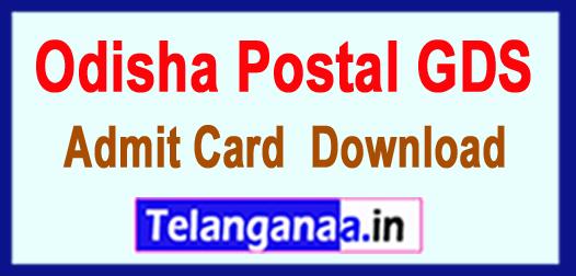 Odisha Postal GDS Results