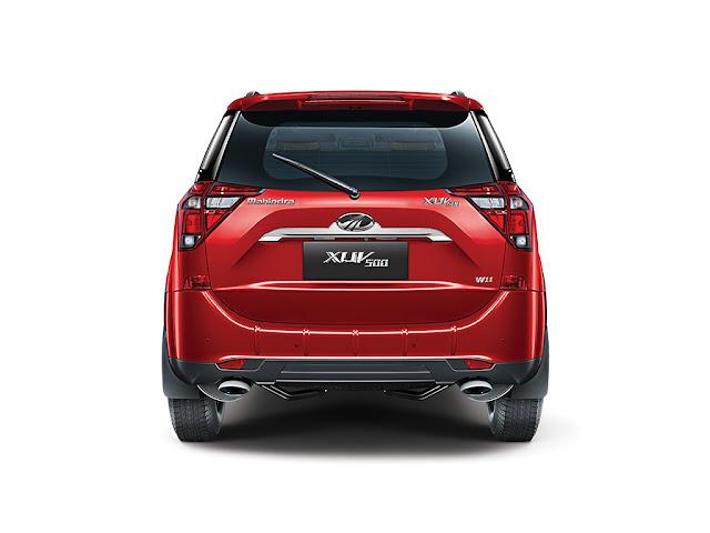 2018 New XUV 500 rear look photo