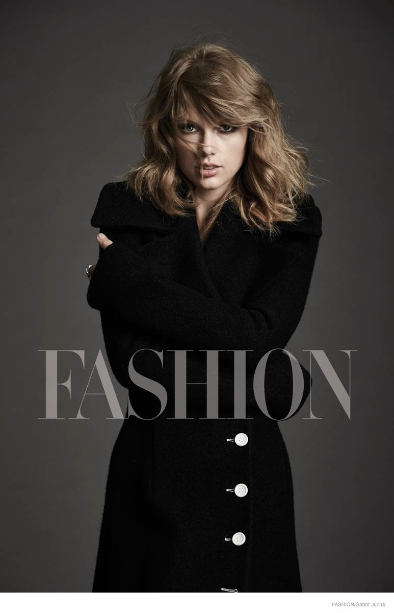 Taylor Swift poses for Fashion Magazine's November 2014 cover story