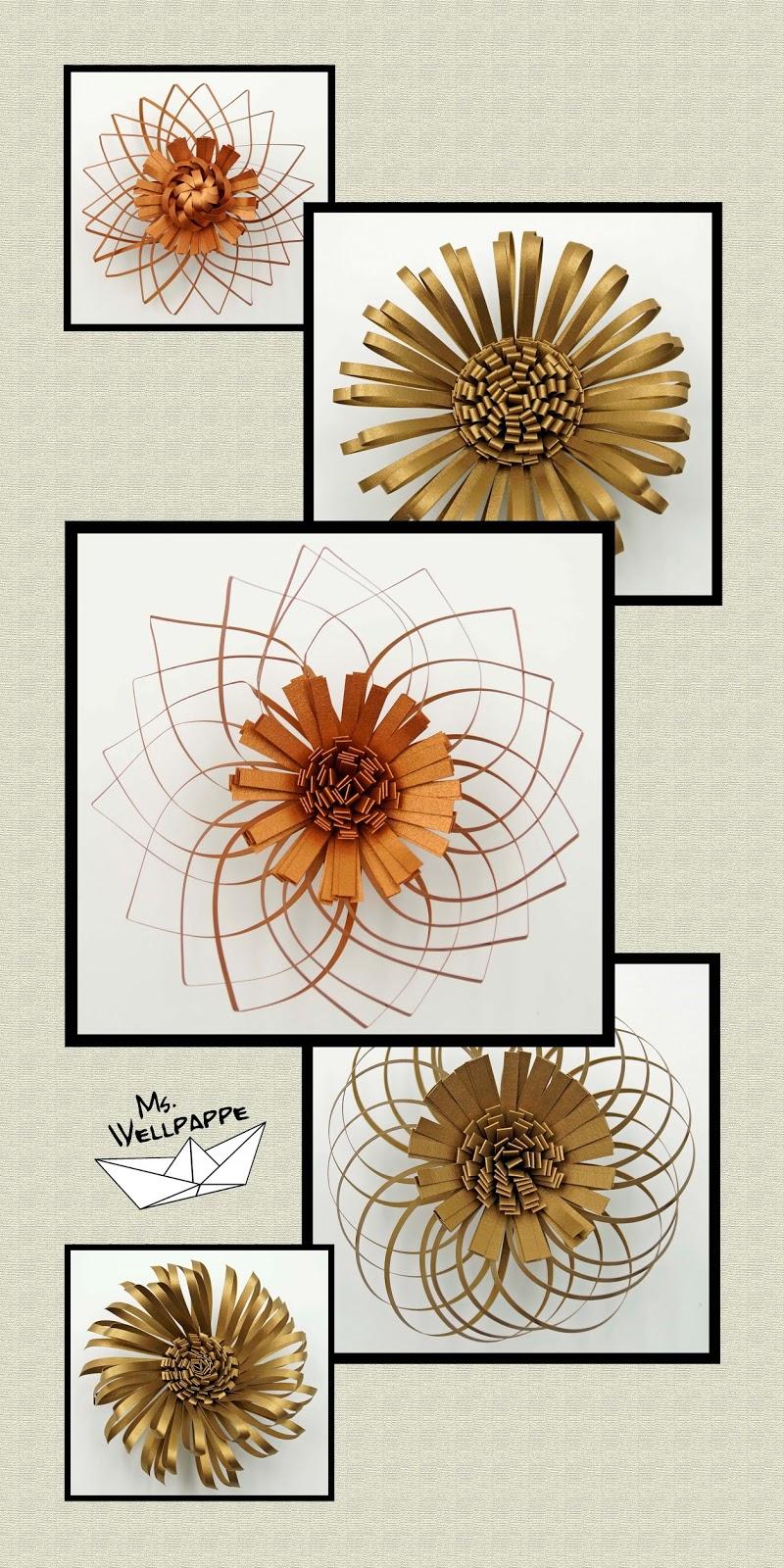 Basteln Und Mehr Diy Blumen Basteln Mit Papier Schone