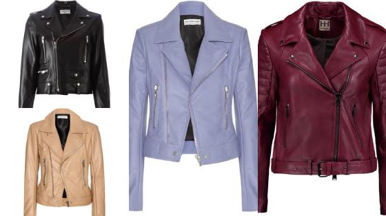 jaqueta de couro moda inverno