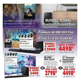 2001 Audio Video Flyer Canada September 21 - 27, 2018