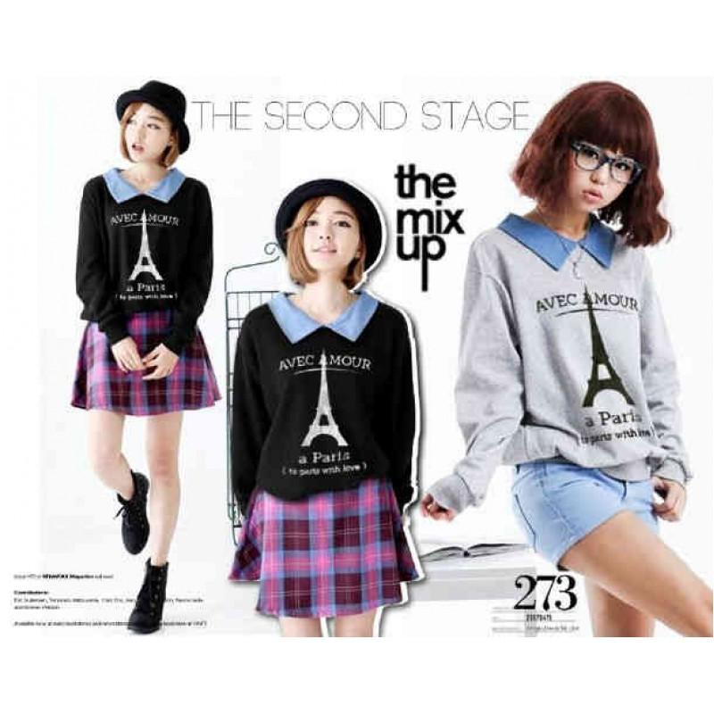 Jual Tee Sweater Kerah Amour - 23803