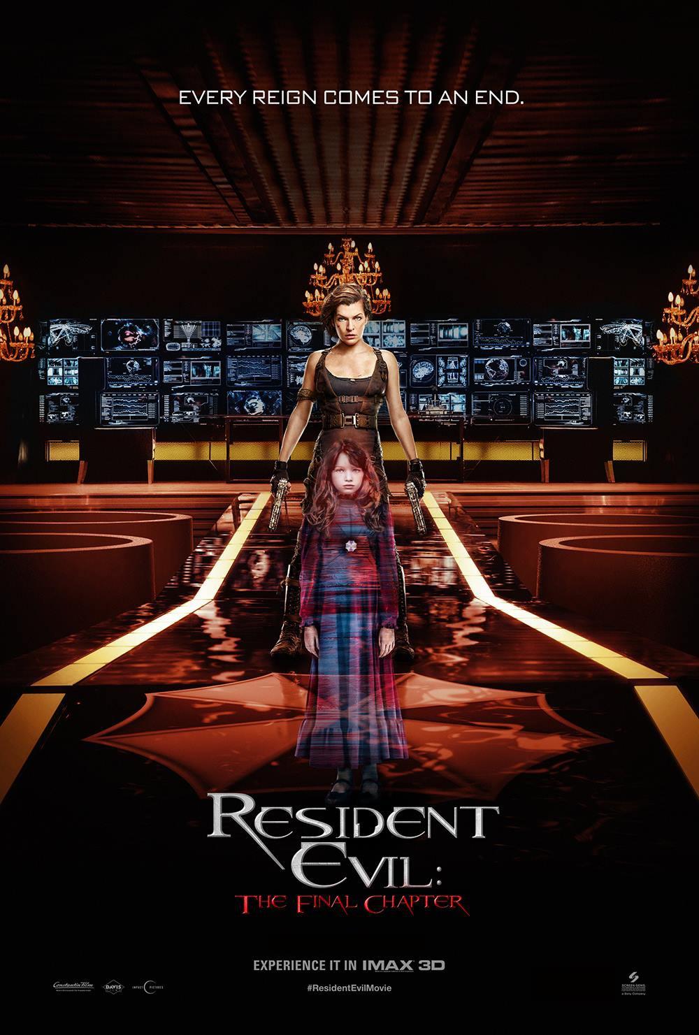 Nonton Film Resident Evil: The Final Chapter (2016)