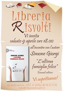 Incontro in libreria con un giovane autore, libreria Risvolti