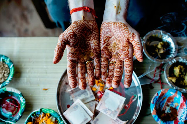 henna- bol kahveli