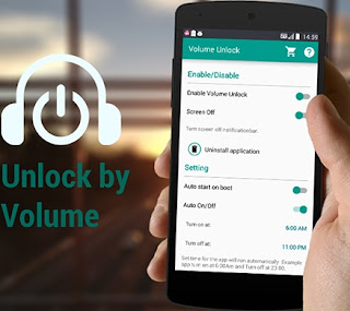 Mengunci Smartphone Tanpa Tombol Power, Volume Unlock Power Button Fix, Gravity Screen.
