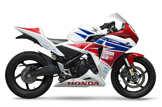 Race-prepped 2016 Honda CBR 150R