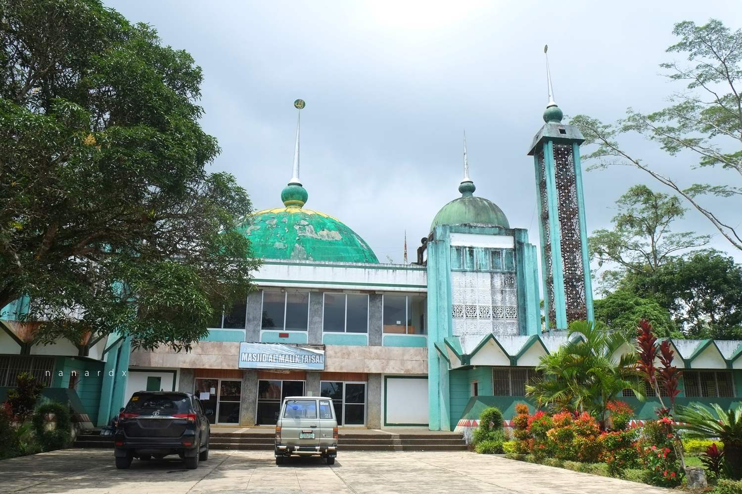 King Faizal Mosque inside the MSU-Marawi Campus
