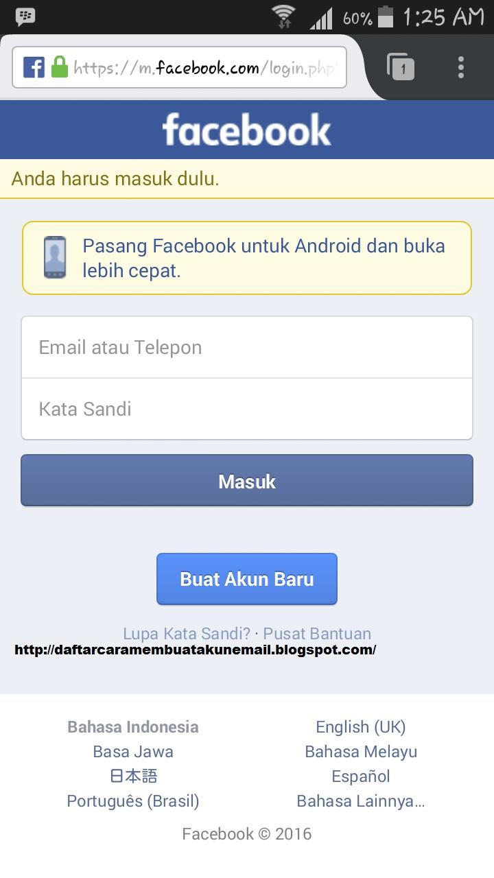 Cara Menghapus Akun Facebook Lewat Android Cara Terbaru Menutup Akun Fb Secara Permanen