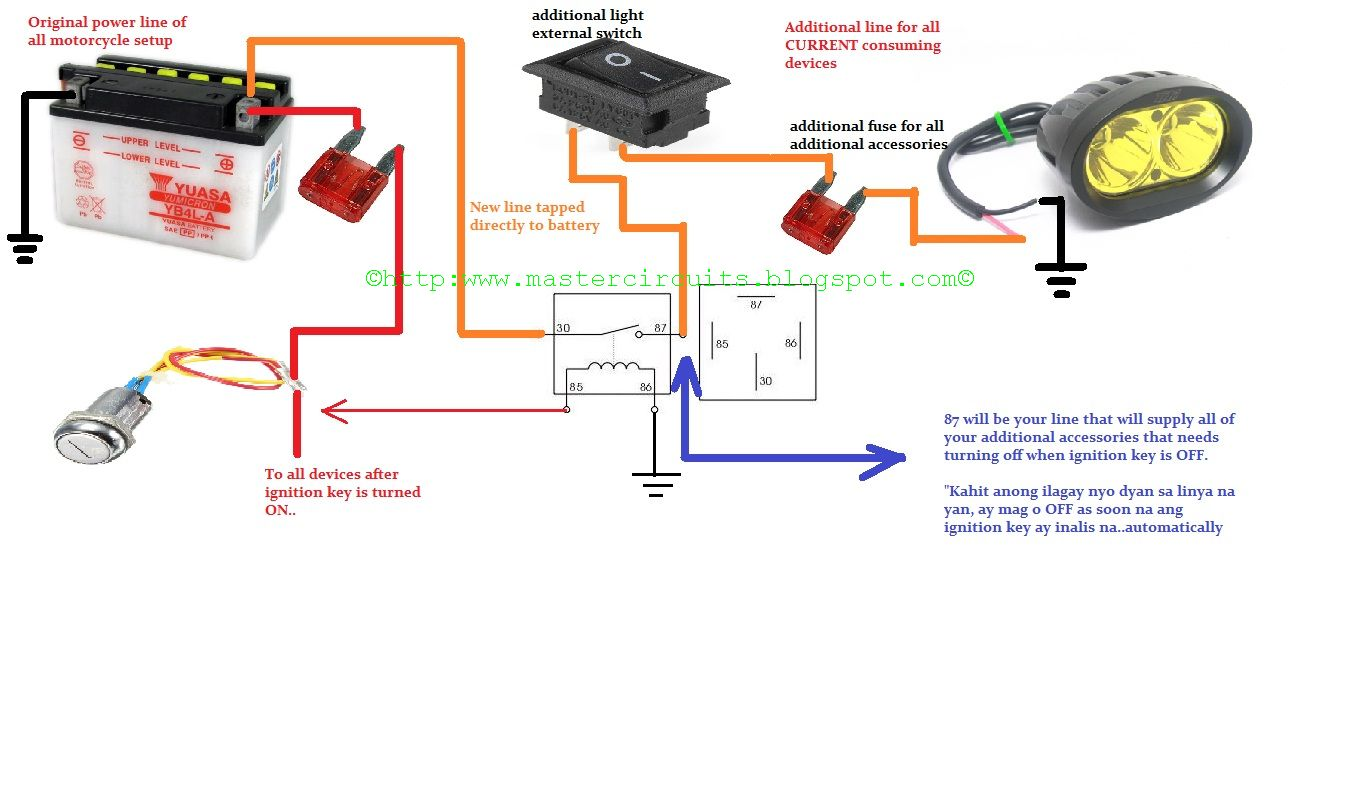 motorcycle mag o wiring diagram wiring diagram Coolster 125Cc ATV Wiring Diagram motorcycle mag o wiring diagram wiring libraryto power it correctly without harming the original wiring it