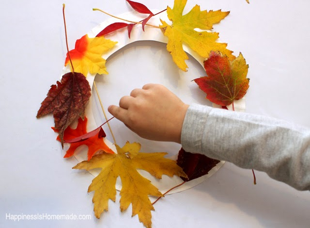 Crafts With Fall Leaves Wax Paper