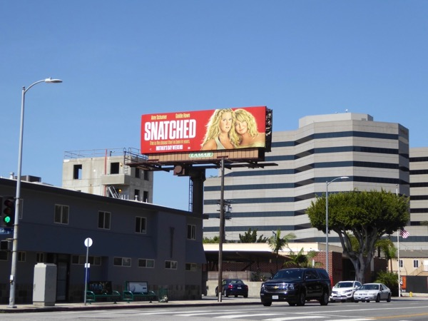Snatched film billboard