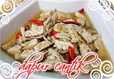Gambar Masakan Tumis Tempe Campur Ikan Teri Dapur Cantik