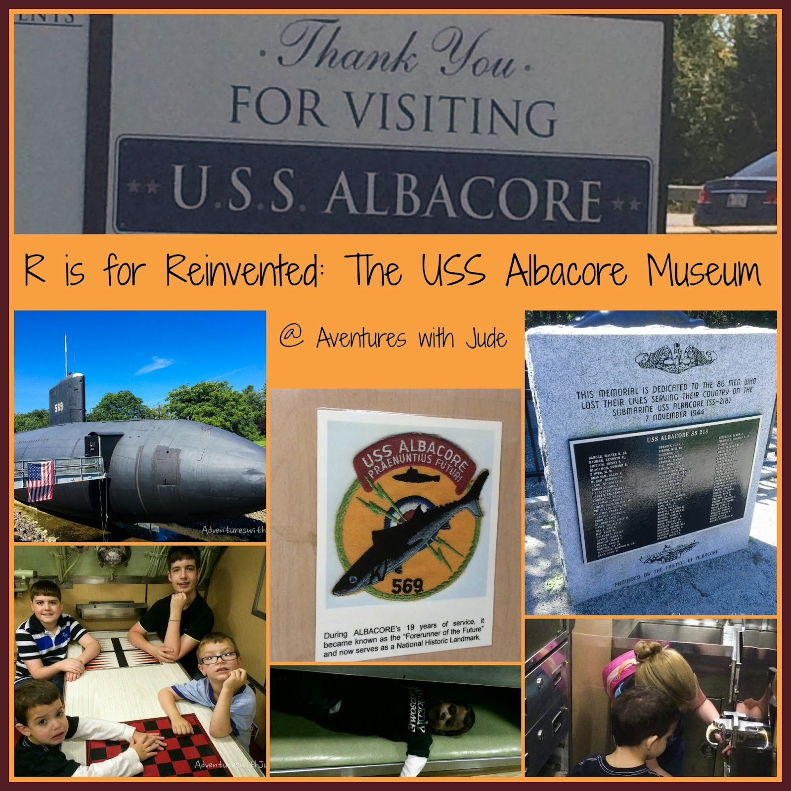 R is for Reinvented: The USS Albacore Museum