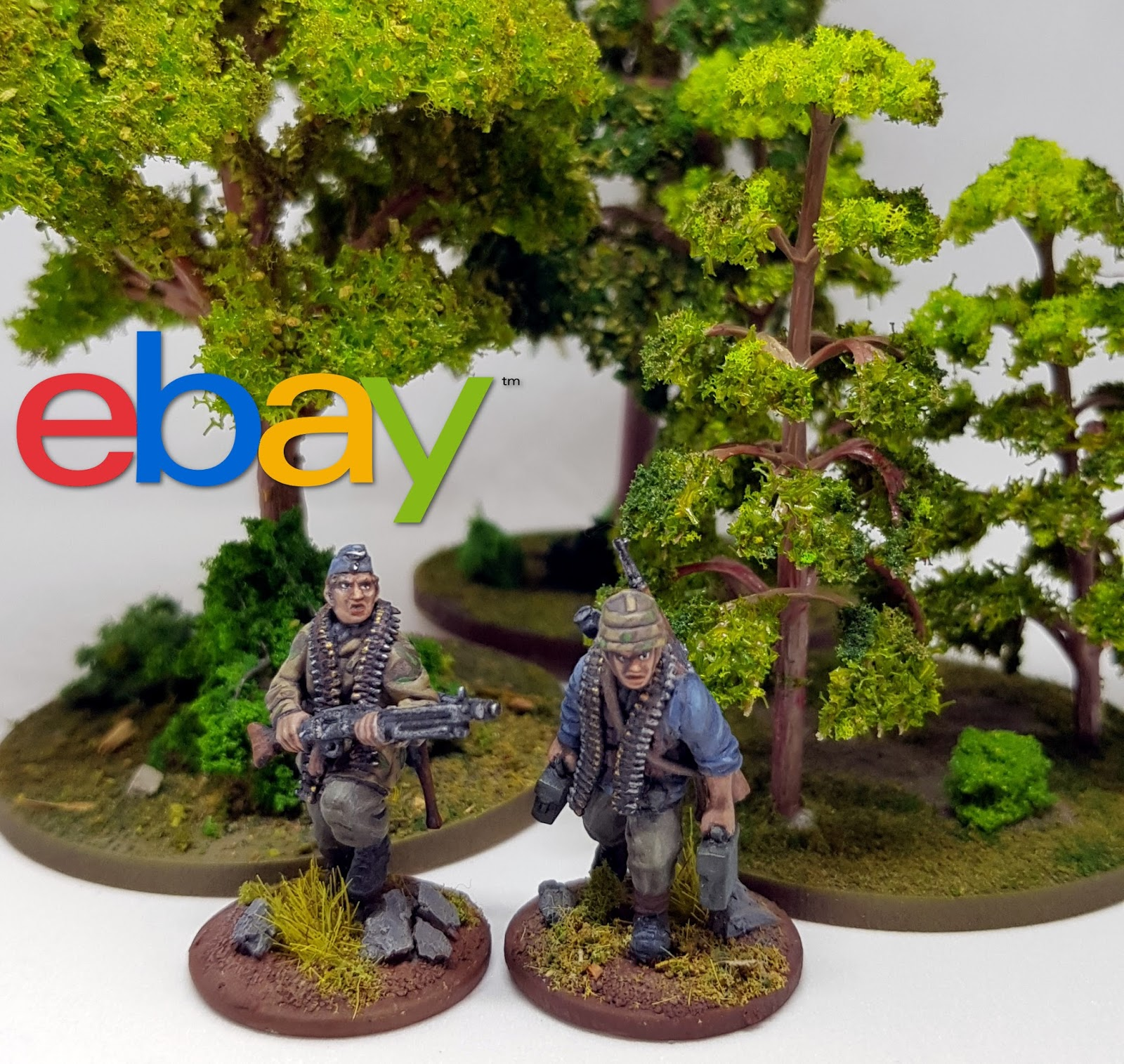 Left Handed Panzerfaust: Ebay Trees for Wargaming - A tutorial to