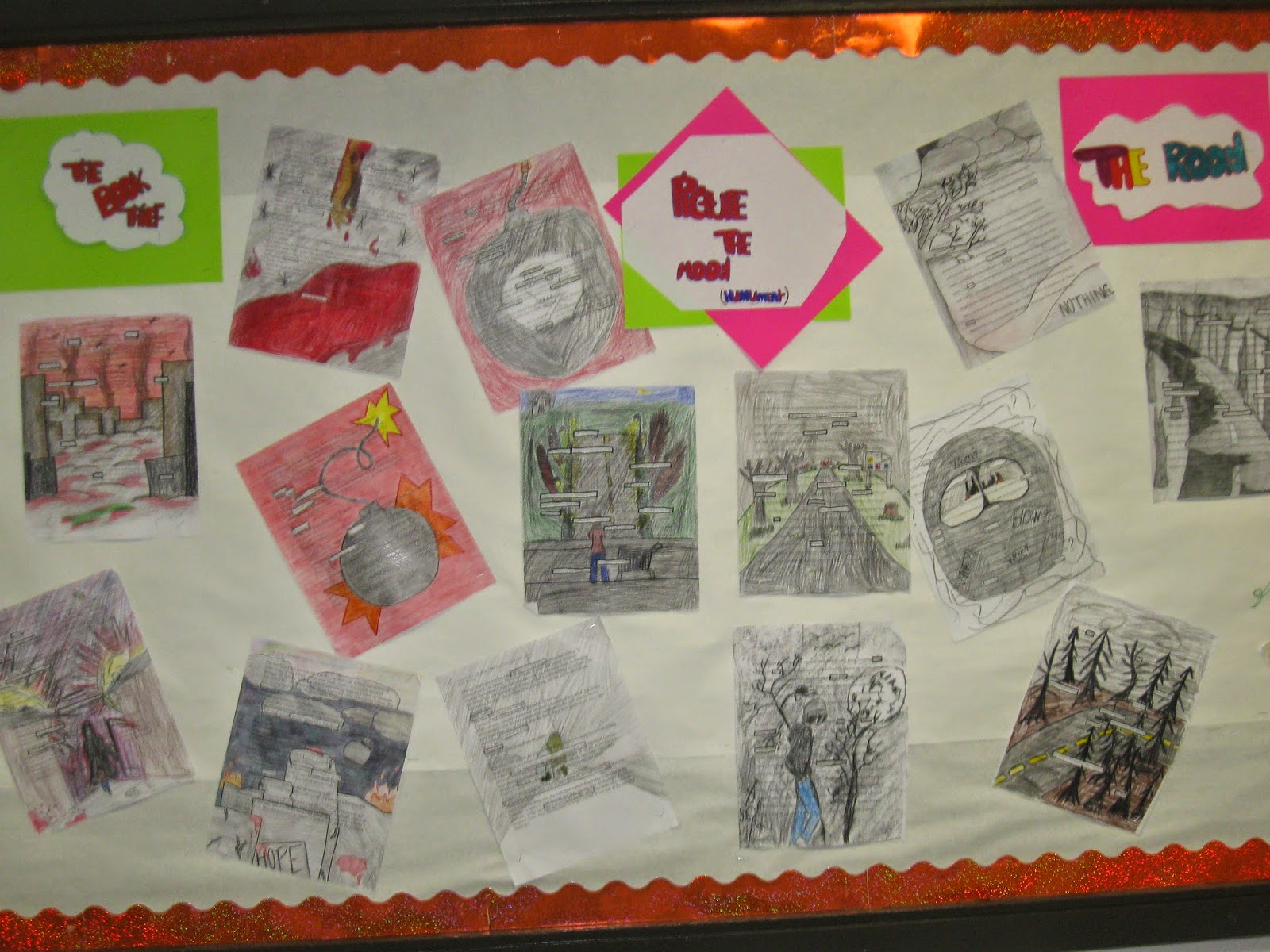 Writing In The Middle Teaching Mood Using Art Teaching