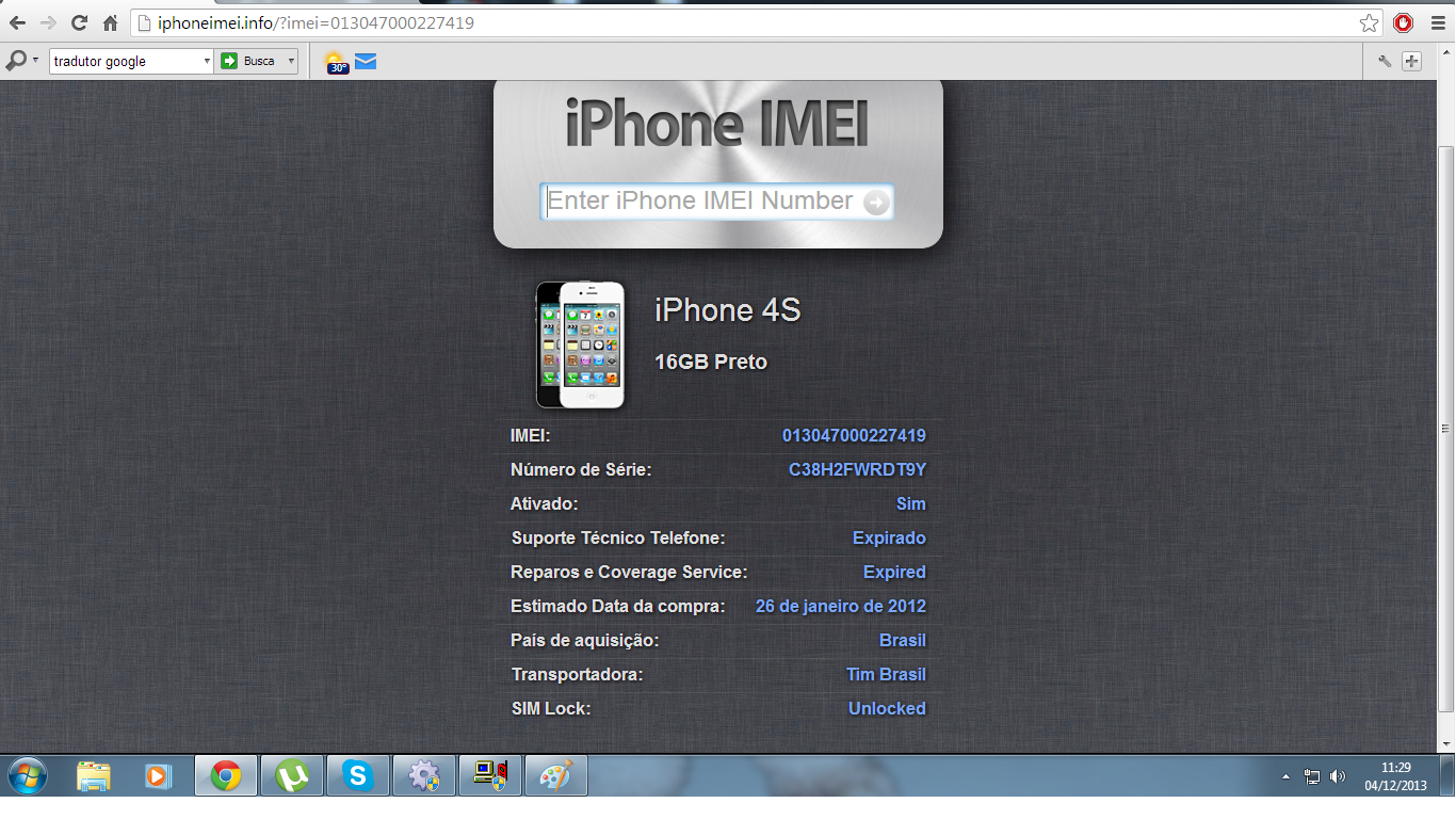 Verificar Imei De Iphone Gratis