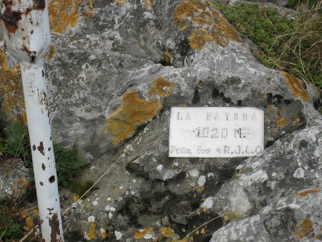 Rutas Montaña Asturias: Buzón de la Fayona, en el Monsacro