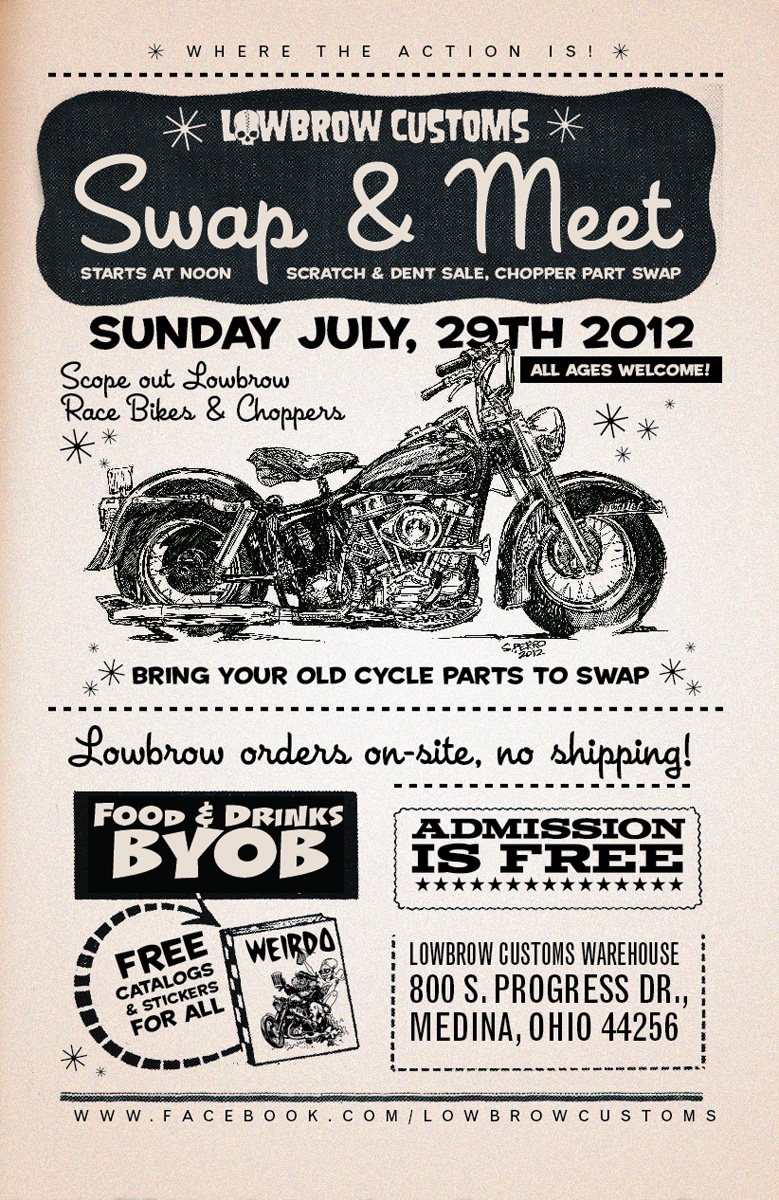 lowbrow customs swap meet 2016 ohio