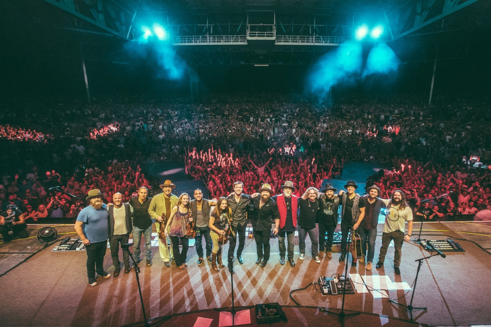 members of zac brown band and o connor band final bows