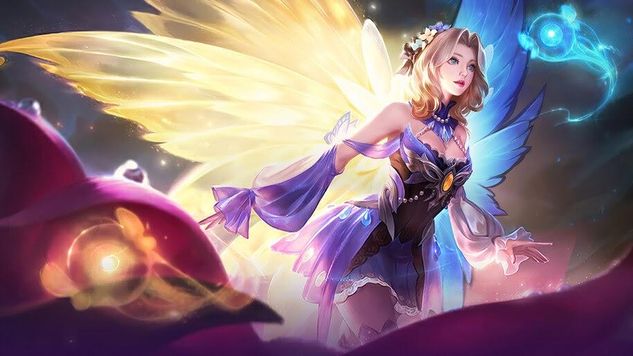 Lunox, Butterfly Seraphim, Skin, Mobile Legends, 4K, #7.1040