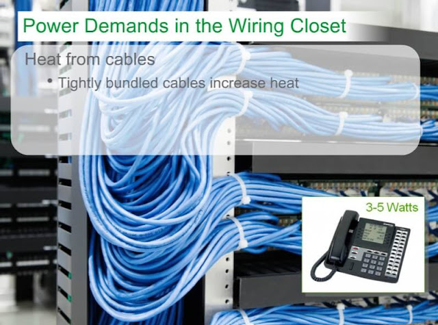 Power Over Ethernet's Effect on Wiring Closets MCQ Course Answers