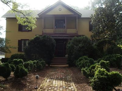 James Monroe home in Charlottesville