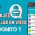 Oculta los avisos de visto y las marcas azules de todas tus apps de chat favoritas - descarga gratis