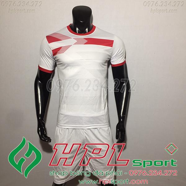 Áo bóng đá không logo F50 Adi màu trắng