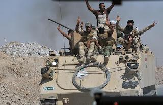 عاجل : القوات المشتركة وبإسناد من طيران الجيش العراقي تسيطر على مزارع العياضية شرق الناحية شمال تلعفر