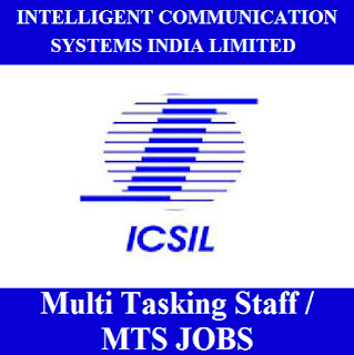Intelligent Communication Systems India Limited, ICSIL, Delhi, 10th, MTS, Multi Tasking Staff, freejobalert, Sarkari Naukri, Latest Jobs, icsil logo