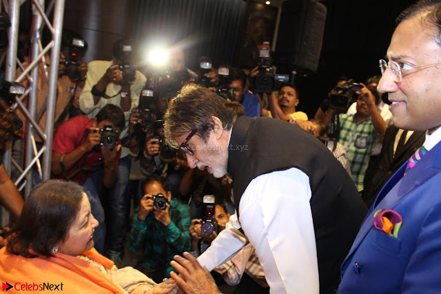 Amitabh Bachchan Launches Worlds 1st Mobile App Abc Of  Health 001.JPG