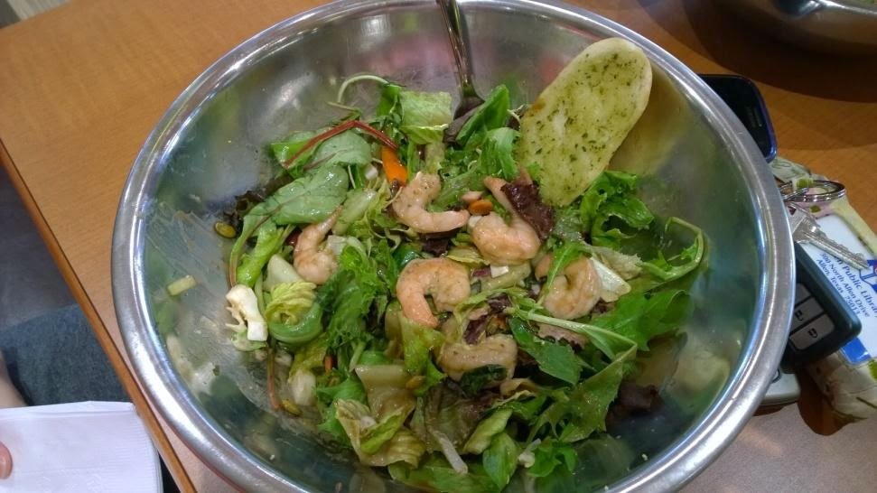balsamic vinaigrette herb marinated shrimp salad