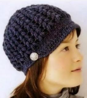 http://tejiendoalcrochet.blogspot.com.es/2014/03/gorrito-tejido-crochet.html