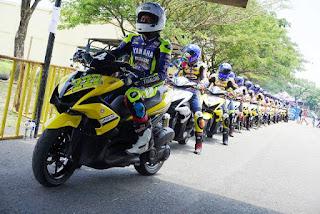 Jelang Yamaha Cup Race 2018 Singkawang, Kalbar : Kelas Aerox 155 cc Cup Community Juga Hadir di Kalimantan