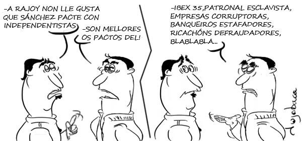 Sánchez necesita pactos