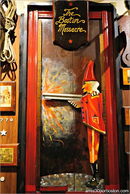 Sala del Freedom Trail del Union Oyster House en Boston: The Boston Massacre