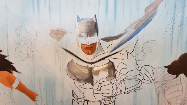 Ben Heine Art - Justice League - Warner Bros Belgium - Live Performance - Facts Comic Con - Kinepolis Exhibition 2017